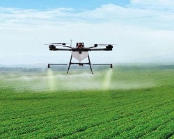 Introduce drones technology in paddy farming